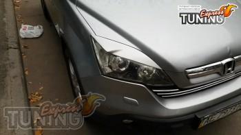 Реснички на фары Хонда Црв 3 тюнинг