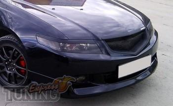 Реснички на фары Хонда Аккорд 7 (накладки фар)