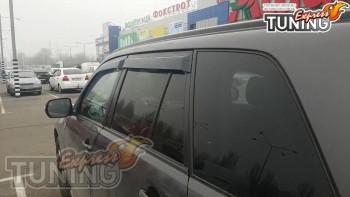 Установка ветровиков на двери Suzuki Grand Vitara оригинал