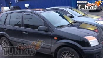 Вставные ветровики на Форд Фьюжн комплект 2шт