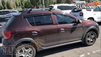 Дефлекторы окон Renault Sandero 2 полный комплект