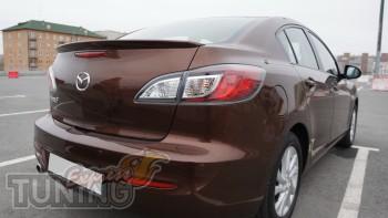 Спойлер на багажник Mazda 3 седан (2 поколение)