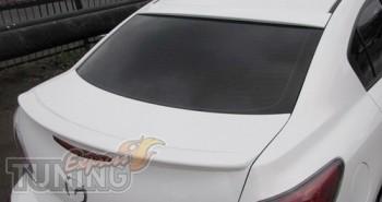Накладка на заднее стекло Mazda 3 седан (2010-2014)