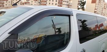 Оригинальные дефлекторы на окна Peugeot Spacetourer