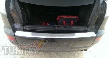 накладка бампера Mitsubishi Outlander XL