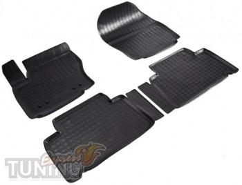Резиновые коврики Ford Galaxy 2 комплект