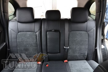 Чехлы на Chevrolet Captiva серии Leather Style