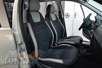 Чехлы для Fiat Punto 2 серии Leather Style
