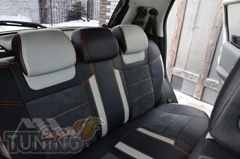 Чехлы в Fiat Punto 2 серии Leather Style
