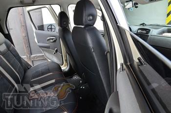 Чехлы на Fiat Punto 2 серии Leather Style