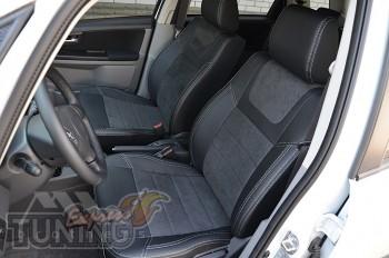 Чехлы для Fiat Sedici серии Leather Style