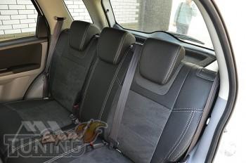 Чехлы в авто Fiat Sedici серии Leather Style