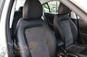 Чехлы в авто Fiat Tipo серии Leather Style