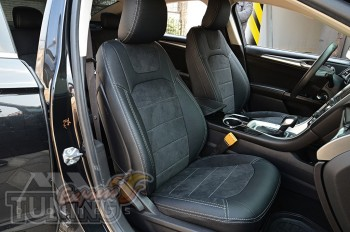 Чехлы Ford Mondeo 5 серии Leather Style