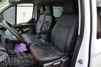 Чехлы Ford Transit Custom серии Leather Style