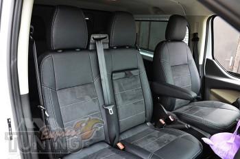 Чехлы для Ford Transit Custom серии Leather Style