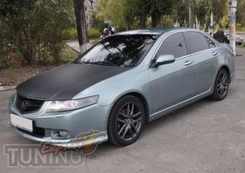 Купить накладки на бампера Хонда Аккорд 7 (Accord 7)