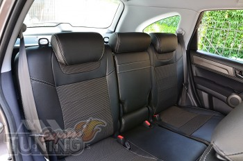 Чехлы в салон Honda CRV 3 оригинальный комплект серии Dynamic