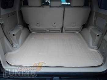 Бежевый коврик в багажник Lexus GX470 оригинал