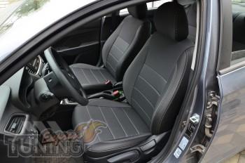 Авточехлы Хендай Акцент 5 серии Premium Style