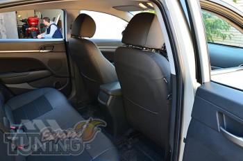 Чехлы на Hyundai Elantra 6 AD оригинальный комплект серии Dynami