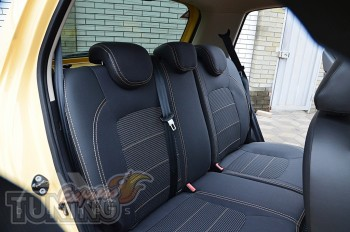 Авточехлы на Хендай Ай10 1 серии Premium Style