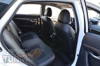 Чехлы в салон Hyundai i40 оригинальный комплект серии Dynamic