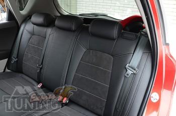 Чехлы на Kia Ceed серии Leather Style