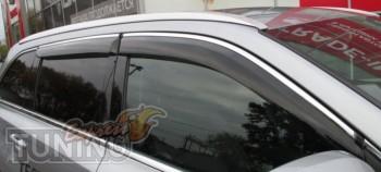 Ветровики с хромом Mercedes GL X166