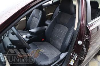 Чехлы Kia Optima 3 с 2010- года серии Leather Style