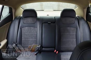 Чехлы в салон Kia Optima 3 с 2010- года серии Leather Style