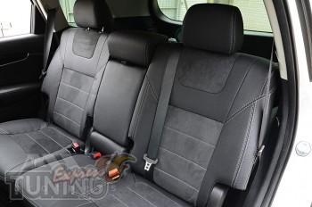 Чехлы в авто Kia Sorento UM с 2015- года серии Leather Style