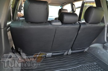 Чехлы на Lexus GX 470 серии Leather Style