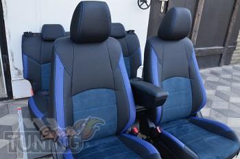 Чехлы для Mazda CX-3 с 2014- года серии Leather Style