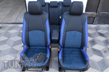 Чехлы салона Mazda CX-3 с 2014- года серии Leather Style