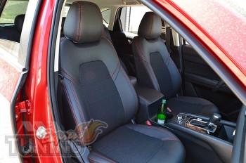 Чехлы в Mazda CX-5 2 оригинальный комплект серии Dynamic