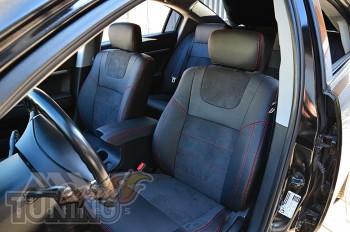 Чехлы Mitsubishi Galant 9 серии Leather Style