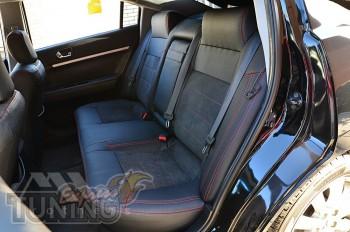 Чехлы на Mitsubishi Galant 9 серии Leather Style