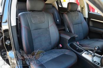 Чехлы в Mitsubishi Galant 9 серии Leather Style