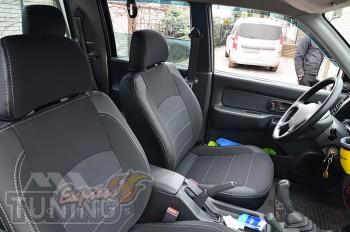 Авточехлы в салон Митсубиси Л200 3 серии Premium Style