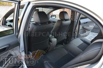 Чехлы в авто Mitsubishi L200 3 оригинальный комплект серии Dynam