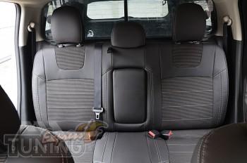 Чехлы на Mitsubishi L200 5 оригинальный комплект серии Dynamic
