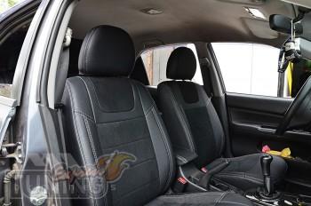 Чехлы для Mitsubishi Lancer 9 с 2003- года серии Leather Style