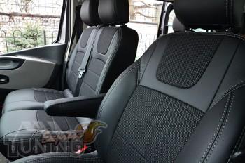 Чехлы на Opel Vivaro 2 оригинальный комплект серии Dynamic