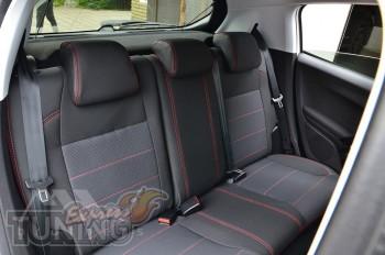 Авточехлы в салон Пежо 208 серии Premium Style