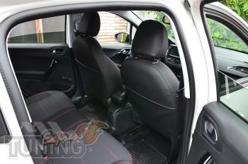 Авточехлы для Пежо 208 серии Premium Style