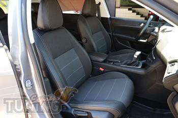 Авточехлы в салон Пежо 308 Т9 серии Premium Style