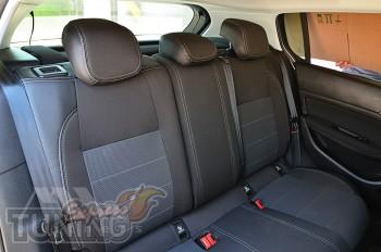 Авточехлы в Пежо 308 Т9 серии Premium Style