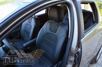 Чехлы Renault Duster 2 с 2018- года серии Leather Style