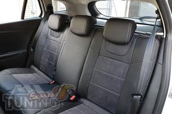 Чехлы в салон Renault Megane 3 Grandtour серии Leather Style